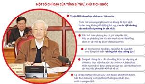 [Infographics] Chỉ đạo của Tổng Bí thư về phòng, chống dịch Covid-19