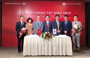 Techcombank hoàn tất giao dịch chuyển nhượng công ty Techcomfinance cho đối tác Hàn Quốc