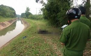Thái Nguyên: Nam thanh niên bị chết cháy cạnh bờ kênh