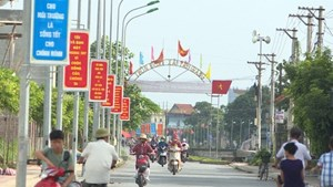 Thái Bình: Huyện ven biển Tiền Hải đạt chuẩn nông thôn mới
