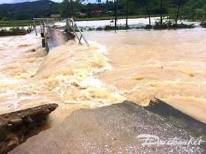 Thanh Hóa: Đã có 6 người chết và mất tích do mưa lũ