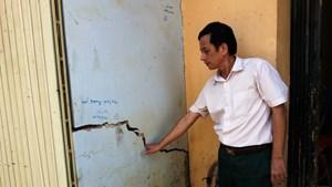 Thanh Hóa: Nhiều ngôi nhà nứt gãy bất thường