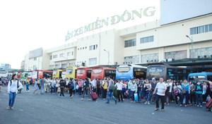 Thành phố Hồ Chí Minh: Kiểm tra đồng loạt 4 bến xe dịp Tết Mậu Tuất