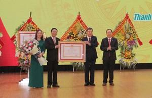 Hoàn thành nhiệm vụ xây dựng NTM, TP Thanh Hóa được tặng thưởng Huân chương Lao động hạng Ba