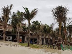 Tháo dỡ hàng chục biệt thự xây trái phép ven biển