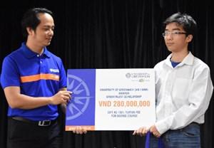 Thí sinh Việt Nam duy nhất thắng giải cuộc thi Lập trình của Google