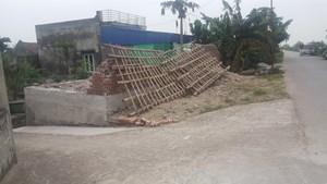 Nam Định: Tự ý xây nhà ở chân đê