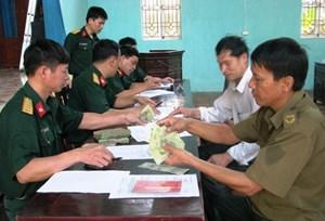 Thông tư quy định mức trợ cấp hàng tháng đối với quân nhân xuất ngũ
