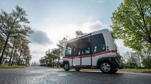 Thử nghiệm mẫu xe buýt không người lái đầu tiên ở Đức