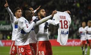 Thủ quân Lyon bị CĐV truy đuổi vì mừng bàn thắng kiểu Messi