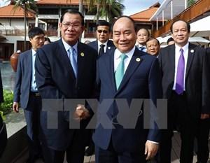 Thủ tướng Campuchia đánh giá cao Việt Nam đăng cai tổ chức APEC 2017
