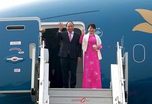 Thủ tướng đến Thủ đô New Delhi, Ấn Độ