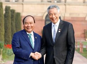 Thủ tướng tiếp xúc song phương nhân dự Hội nghị ASEAN-Ấn Độ