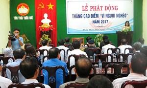 Thừa Thiên - Huế: Vận động hơn 7,8 tỷ đồng quỹ Vì người nghèo