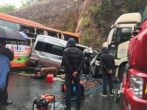 Thừa Thiên – Huế: Tai nạn liên hoàn khiến một người tử vong