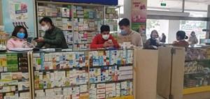 Có hay không việc 'chợ' thuốc Hapulico liên kết không nhập khẩu trang?