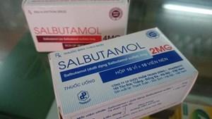 Thuốc chứa salbutamol sản xuất trong nước không đủ đáp ứng?