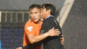 Tiến Dụng đặt tên Lê Huỳnh Đức cho bàn thắng đầu tiên