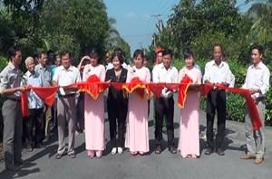 Tiền Giang: Con đường văn hóa tại Cẩm Sơn