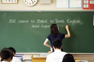 Chú trọng giáo viên tiếng Anh