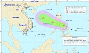Tiếp tục xuất hiện áp thấp nhiệt đới gần Biển Đông, có khả năng mạnh lên thành bão