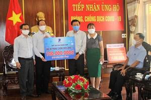 Mặt trận tỉnh Quảng Nam tiếp nhận trên 11 tỷ đồng ủng hộ phòng, chống dịch Covid-19