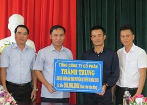Phú Yên: Tiếp nhận 500 triệu đồng hỗ trợ đồng bào bị thiên tai lũ lụt