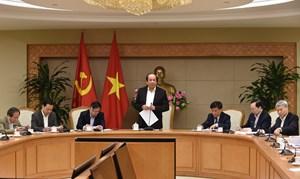 Tổ công tác của Thủ tướng công bố tiến độ cắt giảm thủ tục của từng Bộ