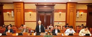 Tổng Bí thư Nguyễn Phú Trọng: Công tác tự kiểm tra còn yếu, kiểm soát quyền lực chưa tốt