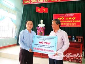 TP HCM hỗ trợ Quảng Ngãi 1,5 tỷ đồng khắc phục hậu quả bão số 12