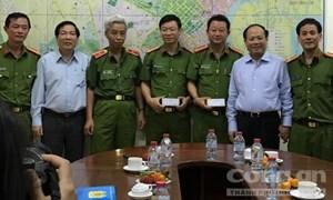 TP HCM: Khen thưởng Phòng PC46 và Công an quận Bình Thạnh