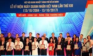 TP HCM: Tôn vinh 57 doanh nghiệp và 79 sản phẩm - dịch vụ tiêu biểu