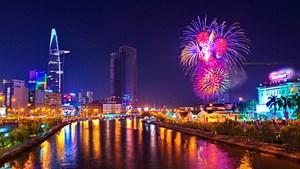 TP Hồ Chí Minh được bắn pháo hoa mừng Tết dương lịch