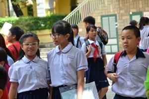 Tổ chức kỳ khảo sát năng lực tiếng Anh để tuyển sinh lớp 6 tại TP HCM