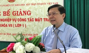 BẢN TIN MẶT TRẬN: Phó Chủ tịch Nguyễn Hữu Dũng dự Lễ bế giảng lớp bồi dưỡng nghiệp vụ cán bộ Mặt trận các tỉnh, thành phía Nam