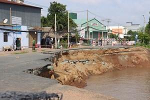 Sạt lở ở Đồng bằng sông Cửu Long: Cần giải pháp căn cơ