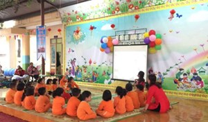 Tuyên Quang: Vận động trẻ mầm non đến trường