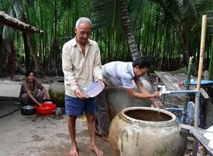 Trà Vinh: 13,7 tỷ đồng hỗ trợ nước sạch cho hộ nghèo