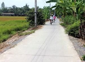 Trà Vinh  hỗ trợ các xã đạt chuẩn nông thôn mới