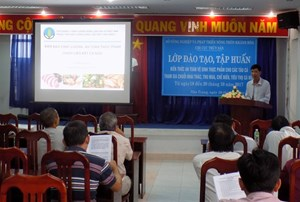 Trà Vinh: Mở 40 lớp tập huấn kiến thức về vệ sinh an toàn thực phẩm