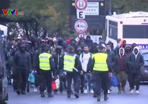 Pháp: Cảnh sát dẹp khu trại của người di cư tại Paris