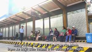Trạm xe buýt hiện đại 8,5 tỷ đồng ở Sài Gòn