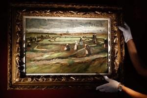 Tranh của danh họa Van Gogh lập kỷ lục thế giới