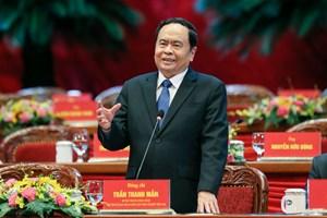 [Infographics] Tiểu sử Chủ tịch UBTƯ MTTQ Việt Nam khóa IX Trần Thanh Mẫn