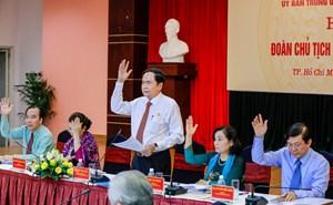 Hội nghị Đoàn Chủ tịch UBTƯ MTTQ Việt Nam lần thứ 13 thành công tốt đẹp