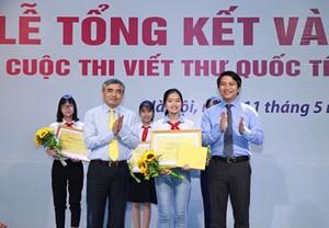 Trao giải cuộc thi viết thư quốc tế UPU lần thứ 47
