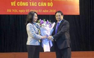 Trao quyết định bổ nhiệm Bí thư Tỉnh ủy Lạng Sơn cho bà Lâm Thị Phương Thanh
