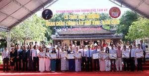 Trao giải thưởng Phan Châu Trinh cho 67 cá nhân, tập thể xuất sắc