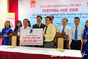 Trên 20 doanh nghiệp tài trợ cho Festival Huế 2018