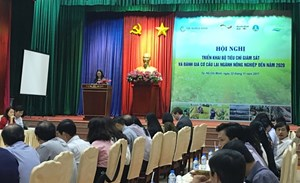 Triển khai Bộ tiêu chí giám sát đánh giá cơ cấu lại ngành Nông nghiệp đến năm 2020